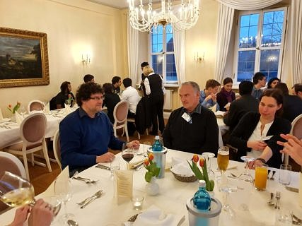 PAs and guests at the conference dinner (Image: A. Dakkouri-Baldauf)